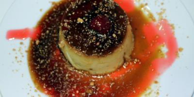Flan Casero - Restaurante Las Golondrinas