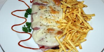 Milanesa Napolitana - Restaurante Las Golondrinas