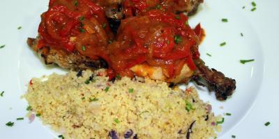 Pollo a la Portuguesa - Restaurante Las Golondrinas