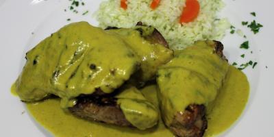 Pollo al Curry - Restaurante Las Golondrinas