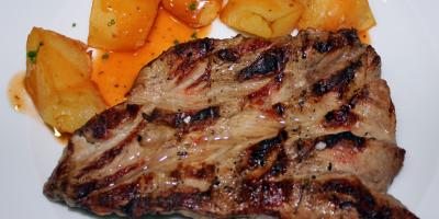 Solomillo de Cerdo a la Brasa - Restaurante Las Golondrinas