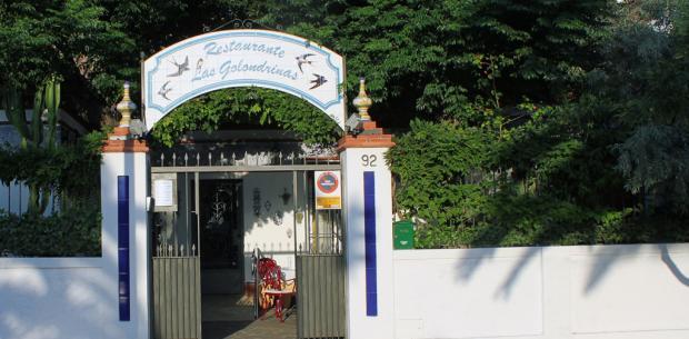 Fachada - Restaurante Las Golondrinas