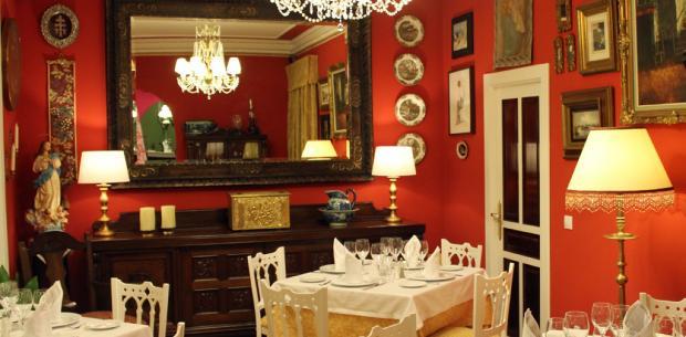 Salón Rojo - Restaurante Las Golondrinas